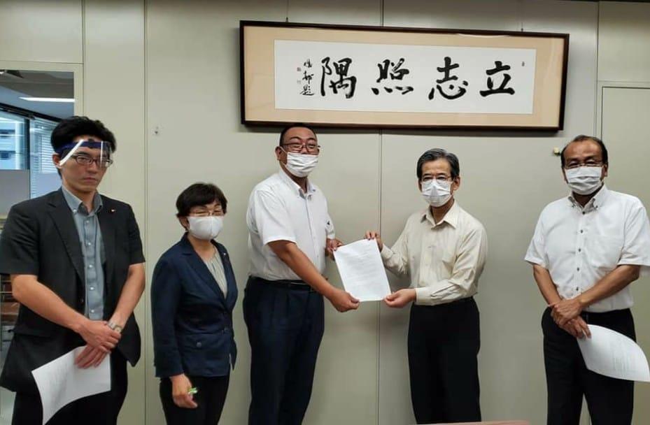 台東区内の学校園で感染者が急増。教育長に緊急申し入れ