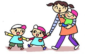 保育園のお散歩コースの安全対策で聞き取り調査ー日本共産党市議団