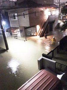 台風被害ー市が直接実態把握を