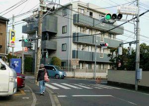 猪駒通りの交通安全対策を