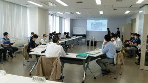 狛江市災害対策本部訓練を見学