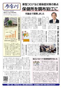 市議会報告「多摩川」を発行