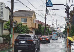 駒井大通りの交通安全対策を