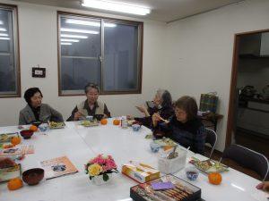 新日本婦人の会、みつばちB班の新年のつどいに参加しました