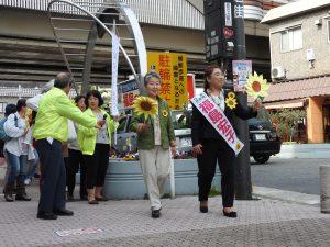いよいよ最終日、日本共産党の躍進を全力で訴えます