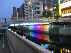 新芝橋ライトアップ