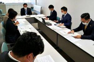 墨田保健所長  西塚さんと懇談