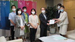 東京都にPCR等検査の抜本的拡充を申し入れ