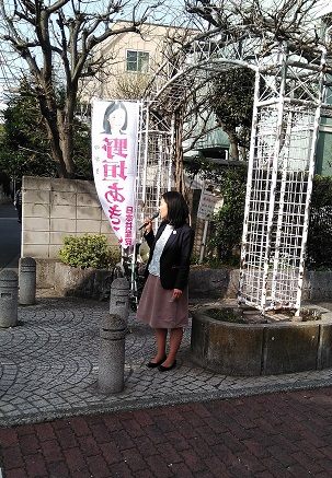5月14日~18日 野垣あきこ街頭演説の予定