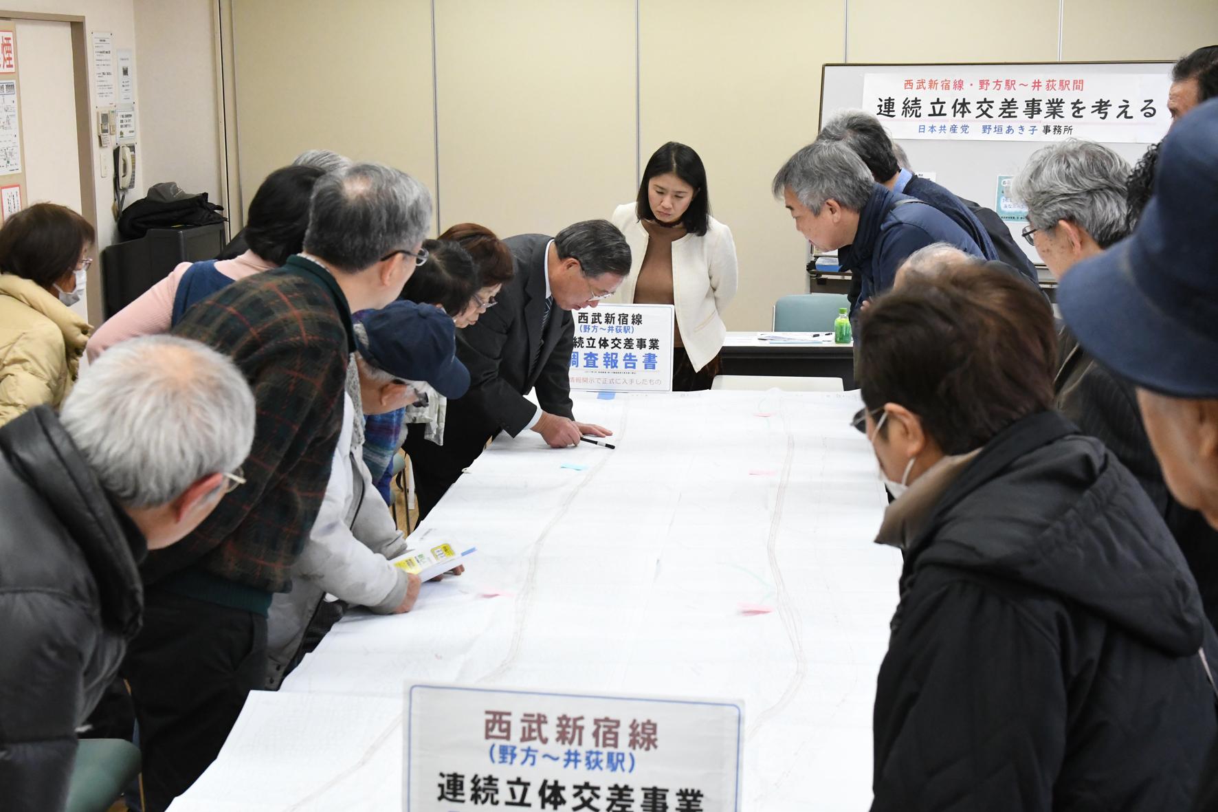 【報告】西武新宿線 野方~井荻間立体交差事業計画を考える