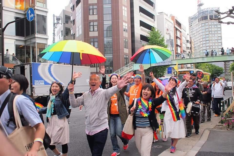 東京レインボープライドに参加しました!