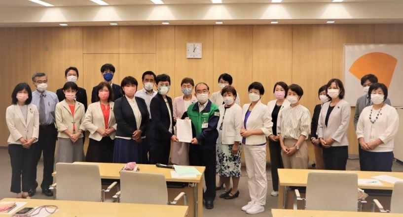東京五輪の開催中止および学校連携観戦の中止を求める申し入れ