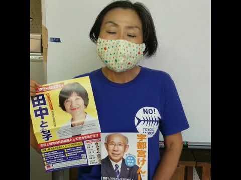 【田中とも子への応援メッセージ】築地を返して! 調布市にお住いの女性