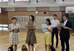 豊島区の小中学校の体育館・全てエアコンがつきました